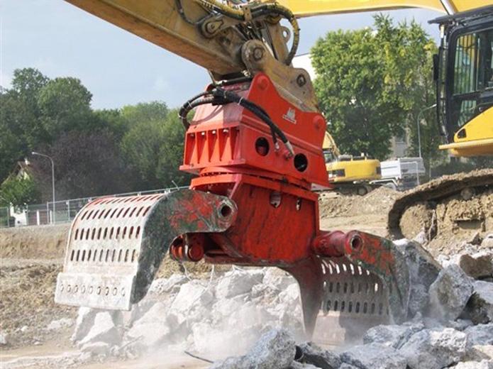 MO 5000 Verladen von Bauschutt
